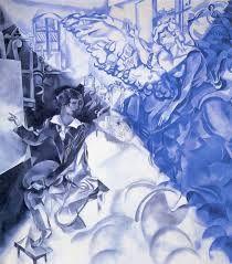 Картинки по запросу marc chagall dream paintings