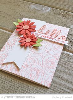 paper crafting, stamping, card making, scrapbooking, tutorials, video tutorials, Kimberly Crawford, cards, die cutting, class, classes,