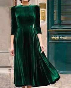 Party Dresses Armee-Grün-Weinlese-Samt-Kleider The Meaning of Pearls Article Body: Just like all the Modest Dresses, Elegant Dresses, Casual Dresses, Maxi Dresses, Summer Dresses, Formal Dresses, Wedding Dresses, Pretty Dresses, Shift Dresses