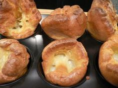 Yorkshire Pudding, is not a dish in itself, but a very traditional accompaniment to Scottish Roast Beef. In fact, these puddings are flavored with the drippings of the roasting beef and while being baked then eaten as an accompaniment. Scottish Dishes, Scottish Recipes, Irish Recipes, Wine Recipes, Cooking Recipes, English Recipes, Yorkshire Pudding Filling, Yorkshire Pudding Recipes, Beignets