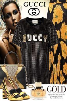 Gucci+mettalic from riagr - trendme.net
