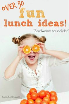 30  Fun and Easy Lunch Ideas For Kids