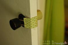 Door Latch Cover for Baby's Room