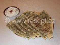Göyərti qutabı (kətə)  Resepti: http://resept.az/Goyerti-qutabi-kete-5446.html