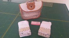 Bolsa com 7 paninhos de boca♡