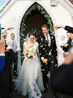 Inside Whitney and Thomas Voûte's wedding in Ireland.