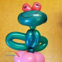 Ballon Kikker  Schminkkoppies Mariëlle Heuft