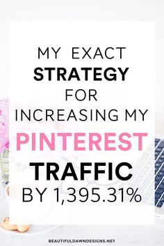 How to increase Pinterest traffic. How I more than tripled my traffic from Pinterest.