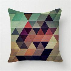 Geometric Colors Pillowcase