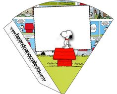 Cone Guloseimas Snoopy: