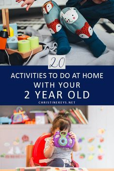 Fun & Easy Activities to Do at Home with Your Old 20 Activities To Do At Home With Your 2 Year Old Activities For 2 Year Olds, Toddler Learning Activities, Games For Toddlers, Craft Activities For Kids, Infant Activities, Parenting Toddlers, Parenting Ideas, Parenting Styles, Parenting Books