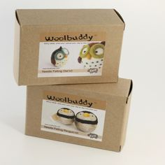 Needle Felting Kits combo any two от woolbuddy на Etsy