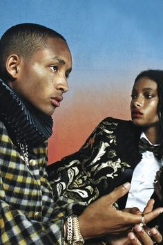 Willow Smith and Jaden Smith cover Vogue Italia Black Is Beautiful, Beautiful People, Willow And Jaden Smith, Trey Smith, Divas, Trevor Jackson, Black Dancers, Jada Pinkett Smith, Vogue