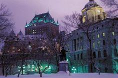 Montréal et Québec ne sont jamais aussi belles qu'en hiver ! Après ces étapes urbaines, séjournez en pleine nature dans une auberge réputée pour son ambiance familiale, son confort et sa gastronomie.