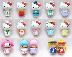 Re-Ment Sanrio Hello Kitty Dress Up Mascot Toys | Flickr - Photo Sharing!