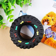 Dog Toy Pet Toys Chew Toy Durable Black Rubber