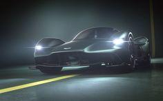 Aston Martin Valkyrie, 2017 cars, supercars, Red Bull Racing, Aston Martin