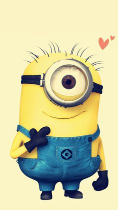 2014 Halloween Despicable Me minion apple iphone 6 plus wallpaper HD #iphone…