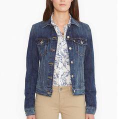 Women's Levi's Denim Trucker Jacket ($59.50) // as seen in allure, June 2016, pg. 62