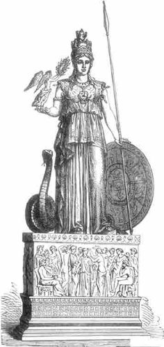 MINERVA, OR PALLAS ATHENE. (Found in Pompeii.)ToList Long time Ixion abode in the house of Hesioneus, for [531]Hesioneus was loth to part with his child. But at the last Ixion sware to give for her a ransom precious as the golden fruits which Helios wins from the teeming earth. So the word was spoken, and Dia the fair became the wife of the son of Amythaon, and the undying horses bare her away in his gleaming chariot. Many a day and month and year the fiery steeds of Helios sped on their…