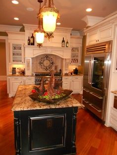 Kitchen Remodel Cleint Pergola-The Manor County Club Alpharetta,GA traditional kitchen