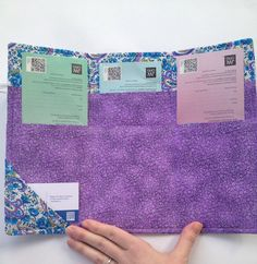 Choose whether you would just like the tract holder, the tract holder and magazine holder, or the tract holder, magazine holder and card holder. The tri-fold tract holder has six sections and has an elastic closure and decorative button. Also an additional side pocket to put a few extra cards. (If not shown with button, it can be added on request.) The holder stores Watchtower and Awake magazines, a small book, and a small tablet if you would like. The holder is approximately 8H x 12W and…