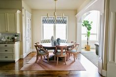 The Riverside House -  Kitchen Dining Nook I House of Jade Interiors