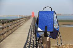 #Sail #backpack big - #recycled race sail - #MadeInItaly #handmade #bags - #Faro di #Lignano #Sabbiadoro