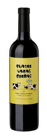 4 VACAS GORDAS MALBEC CABERNET SAUVIGNON 2010 - Caligiore winery wine / vinho / vino mxm