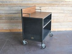Smith Commons Hostess Stand | Vintage Industrial Furniture
