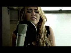 Miley Cyrus- You're gonna make me lonesome when you go (Bob Dylan Cover)