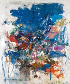 Joan Mitchell, Sans Titre 1960 on ArtStack #joan-mitchell #art