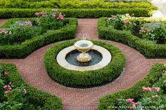 "Beautifully manicured and structured, formal gardens ""are all about geometry and repetition."""