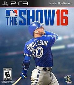 MLB The Show 16- PlayStation 3 Game Includes Sony PS3 original game disc in case and may come with the original instruction manual and cover art when available. All PlayStation 3 games are made for a