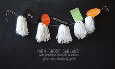 DIY Halloween Garlands (Pennants, Buntings and Banners)