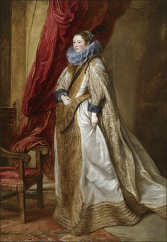 Sir Anthony van Dyck (1599-1641) — Portrait of a Genoese Noblewoman. The Frick Collection.