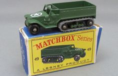 1958 M3 Personnel Carrier - Gallery: The 50 Coolest Matchbox Cars | Complex