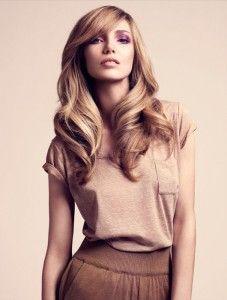 Blowdry, round brush, blonde Wish my hair looked like this!!!