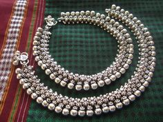 Find wide range of fashion jewellery, imitation, bridal, artificial, beaded and antique jewellery online. Buy imitation jewellery online from designers across India. Call us on [phone] now to resolve your queries. Payal Designs Silver, Silver Anklets Designs, Silver Payal, Anklet Designs, Gold Earrings Designs, Silver Wedding Jewelry, Silver Jewellery Indian, Indian Wedding Jewelry, Antique Jewellery