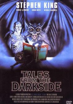 Tales from the darkside Alternate cool movie art. 1990. Monster movie characters. Gargoyle.