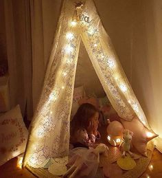 """Handmade Heart Shop on Instagram: """"Dreamy shot from @avas.wonderland featuring our """"Lilly"""" Unicorn hanging out with her pal in this beautiful handmade teepee  Tap for shops! @avas.wonderland  • • • • • #handmade #unicorn #pastel #teepee #lace #diy #homemade #kidsdecor #kidsinterior #igkids #kidsofinstagram #kids #igers #igdaily #inspo"""""""