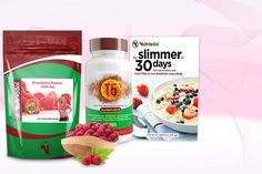 30-Day 'Diet Plan' Book, Raspberry Ketone & T5 Supplements