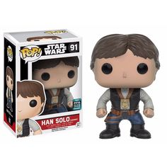 Funko POP! Star Wars HAN SOLO Ceremony 2016 Galactic Convention #91
