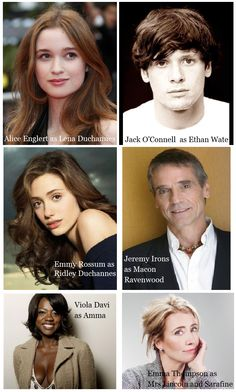 The cast for Beautiful Creatures movie