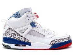 Air Jordan Spizike White Varsity Red True Blue Chaussures