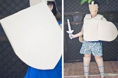 simple cardboard armor - Google Search