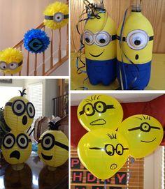 decoracion cumpleaños minions - Buscar con Google