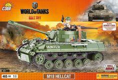 M18 Hellcat. Amerykański niszczyciel czołgów z okresu II wojny światowej. Zapisany w historii, jako najszybszy pojazd tego okresu. Sprawdzał się idealnie do ataków z zasadzki. Cechował się lekkością, armatą o dużej mocy oraz szerokim kadłubem, w którym mieściła się pięcioosobowa załoga.