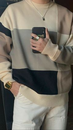 Stylish Mens Outfits, Casual Outfits, Fashion Outfits, Korean Fashion Men, Mens Fashion, Mode Streetwear, Retro Outfits, Mens Clothing Styles, Collar