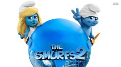 Smurfette and Clumsy - The Smurfs 2